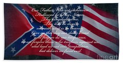 Our Father Beach Towel