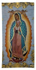 Our Lady Of Guadalupe - Lwlgl Beach Towel