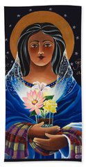 Our Lady Of Light - Help Of The Addicted - Mmlol Beach Towel