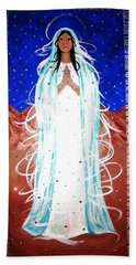 Our Lady Of Lucid Dreams Beach Towel