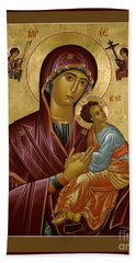 Our Lady Of Perpetual Help - Rloph Beach Towel