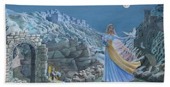 Our Lady Queen Of Peace Beach Towel
