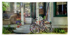 Our Town Bicycle Beach Towel