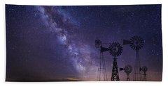 Our Milky Way  Beach Towel