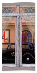 Beach Towel featuring the photograph Out My Window - Paris by Jeff Burgess