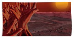Out Of Hand Beach Towel