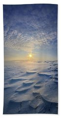 Beach Towel featuring the photograph Out Of The East by Phil Koch