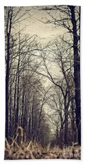 Out Of The Soil - Into The Forest Beach Towel