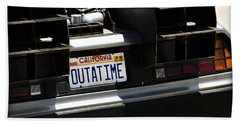 Outatime Beach Towel