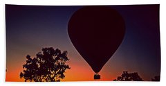 Outback Balloon Launch Beach Towel