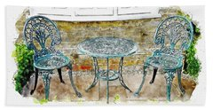 Outdoor Dining Beach Sheet