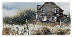 Outer Banks Shack Beach Towel