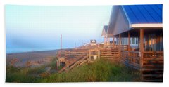 Beach Sheet featuring the photograph Outerbanks Sunrise At The Beach by Sandi OReilly