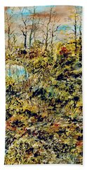 Outside Trodden Paths Beach Towel