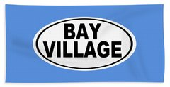 Oval Bay Village Ohio Home Pride Beach Towel