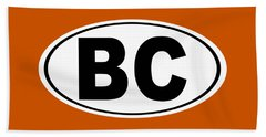 Oval Bc Boulder City Colorado Home Pride Beach Towel