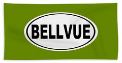 Beach Towel featuring the photograph Oval Bellvue Colorado Home Pride by Keith Webber Jr