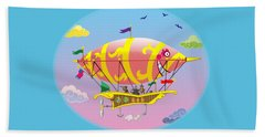 Dreamship II Beach Towel