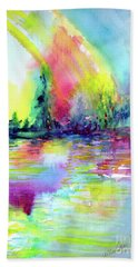 Over The Rainbow Beach Towel