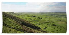 Over The Rim On Terceira Island, The Azores Beach Towel