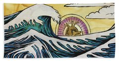 Overwhelming Love Beach Sheet
