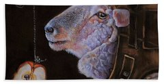 Ovine Dreams Beach Towel