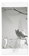 Owl Be Seeing You Beach Towel