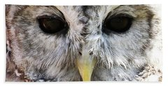 Owl Eyes Beach Towel