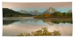 Oxbow Bend Beach Towel