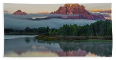 Oxbow Bend Sunrise- Grand Tetons Beach Towel