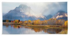 Oxbow Bend Turnout, Grand Teton National Park Beach Towel
