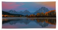 Oxbows Reflections Beach Towel