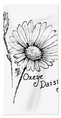 Oxeye Daisy Beach Towel