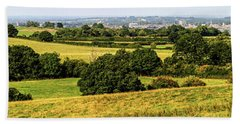 Oxford Spires And Countrysidepanorama Beach Towel by Ken Brannen
