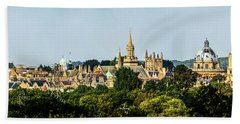 Oxford Spires Beach Towel by Ken Brannen