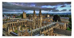 Oxford University - All Souls College Beach Sheet