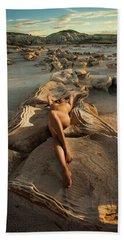 Oyster Bed Beach Sheet