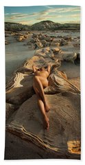 Oyster Bed Beach Towel