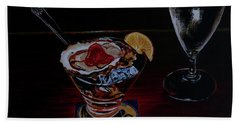 Oyster Shooter Beach Towel by Susan Duda