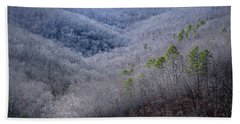 Ozarks Trees #4 Beach Towel