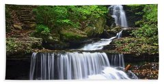 Ozone Falls Of Ricketts Glen Beach Towel