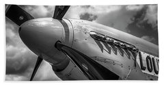 P-51 Mustang Series 3 Beach Towel