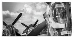 P-51 Mustang - Series 4 Beach Towel