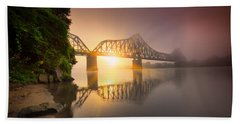 Railroad Bridge Beach Sheet