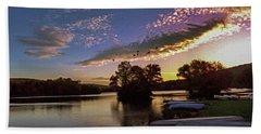 Pa French Creek 2074 Beach Sheet by Scott McAllister