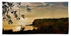 Beach Sheet featuring the photograph Pacific Cove Paradise by Joseph Hollingsworth