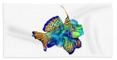 Pacific Mandarinfish Beach Sheet
