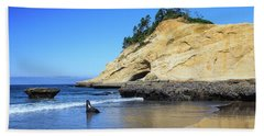 Beach Towel featuring the photograph Pacific Morning by David Chandler