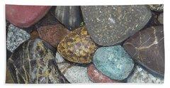 Pacific Nw Beach Rocks Beach Sheet
