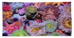Pacific Ocean Reef Beach Towel